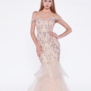 Sweetheart Off-Shoulder Long Prom Dress CDCR776